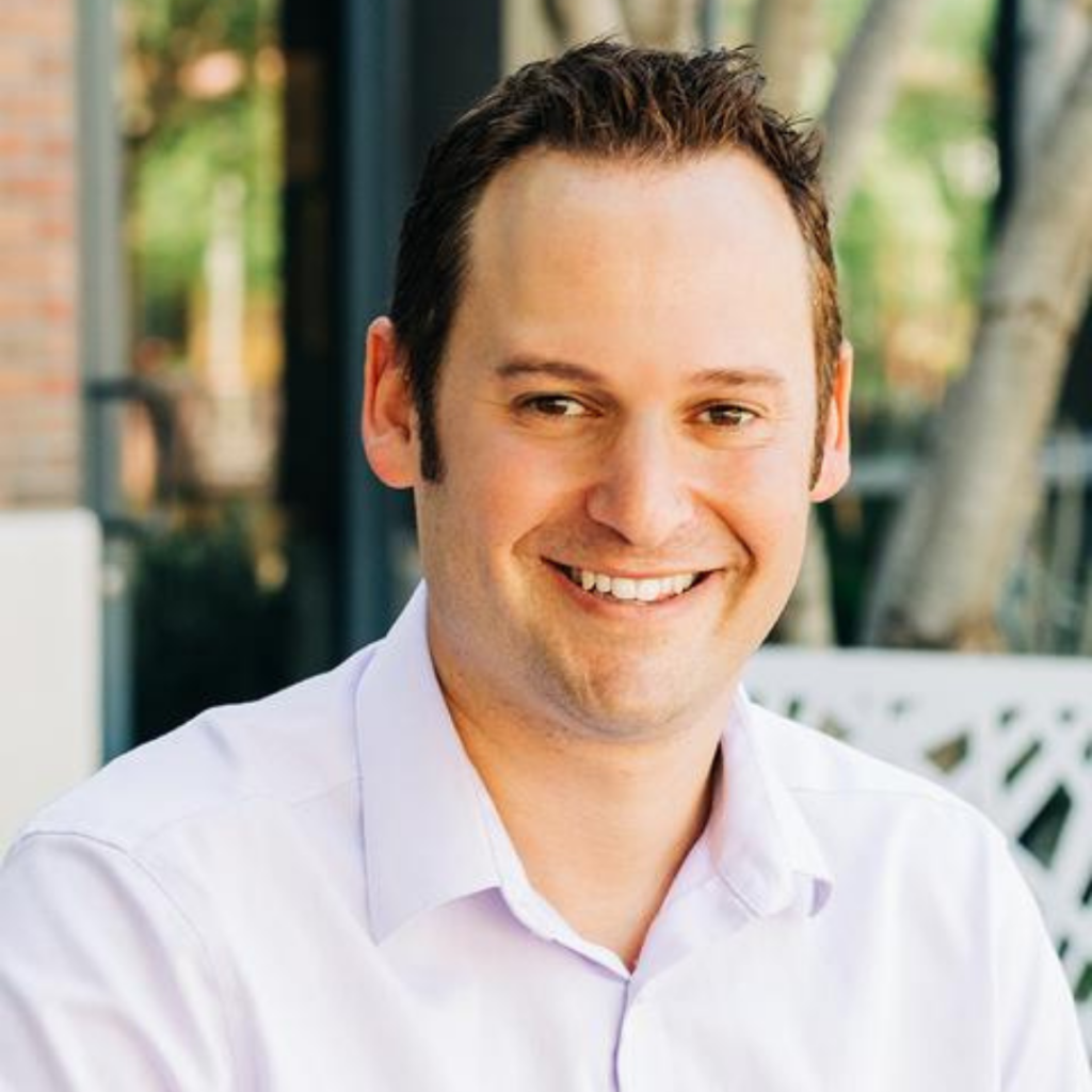 Photo of Corey Kossack, CEO and founder of Aspireship, a SaaS sales training company.