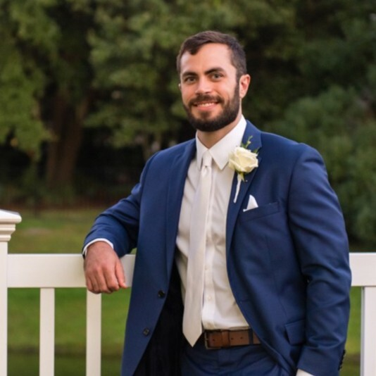 Photo of Jake Wood, Aspireship grad and new BDR job placement at Simplr, a SaaS sales company, job pivot from the fitness industry to SaaS sales.